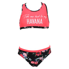 Floral Tribe - Girls' 2-Piece Swimsuit