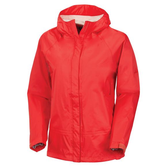 Alliston - Manteau laminé à capuchon pour femme