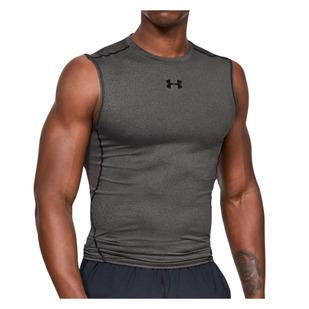 HeatGear Compression - T-shirt d'entraînement sans manches pour homme