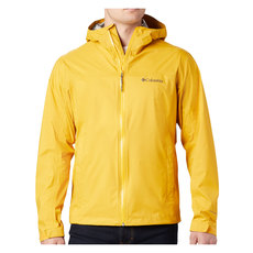 Evapouration (Plus Size) - Men's Hooded Rain Jacket