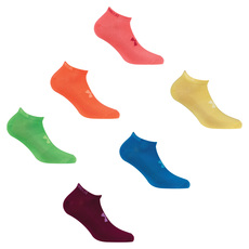 Essential No Show Jr - Jr girls' half-cushioned ankle socks