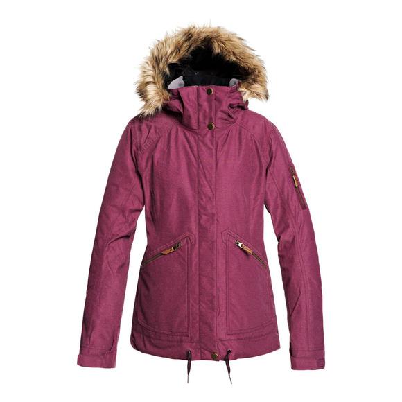 Meade - Manteau d'hiver à capuchon pour femme