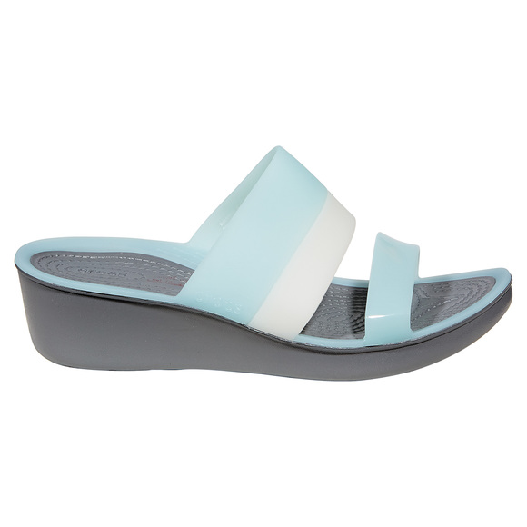 ColorBlock Wedge - Women's Fashion Sandals