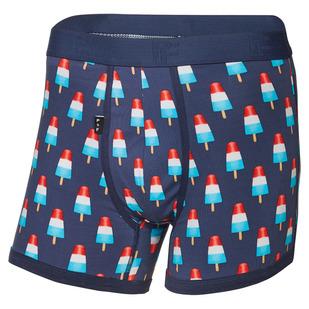 Pops Fusée - Men's Fitted Boxer Shorts