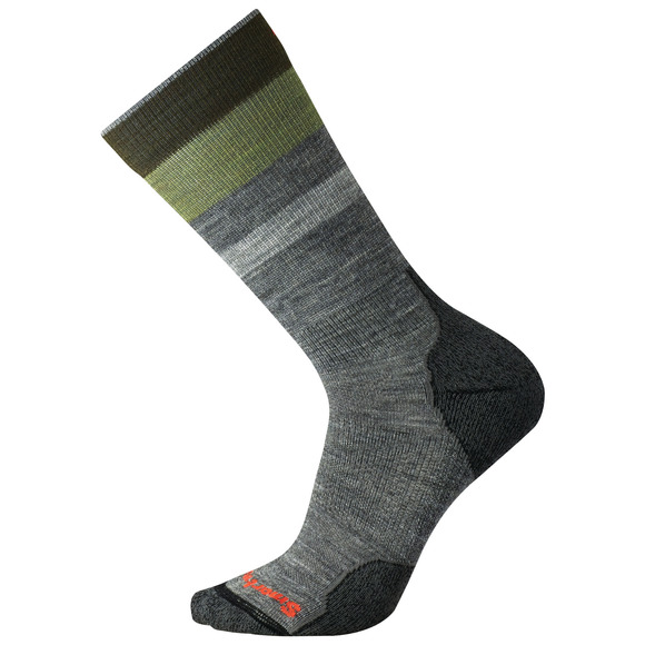 PhD Outdoor Light Pattern - Men's Cushioned Crew Socks
