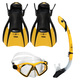 Admiral LX/Island Dry/Trek - Mask, snorkel and fins - 0