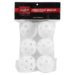 PLBB-W6 - Balles de pratique de baseball
