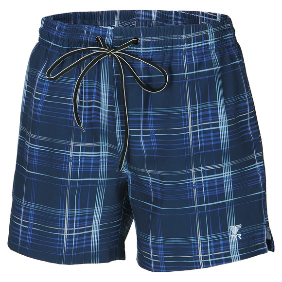 Blue Check - Men's Board Shorts