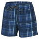 Blue Check - Men's Board Shorts - 0