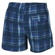 Blue Check - Men's Board Shorts - 1