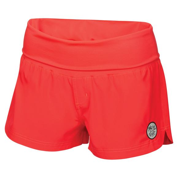 Seaside Vapor - Women's Board Shorts