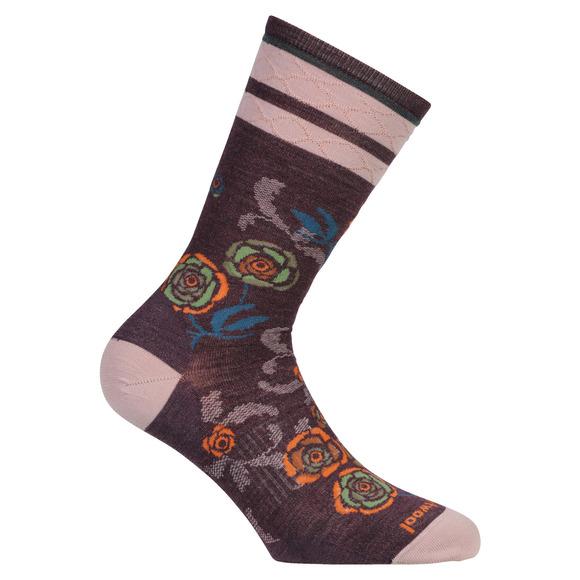 Rosey Posey Crew - Women's Socks