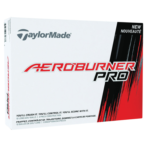 Aeroburner Pro - Box of 12 Golf Balls