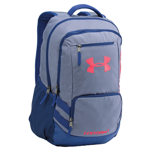 under armour hustle ii sac dos unisexe sports experts. Black Bedroom Furniture Sets. Home Design Ideas