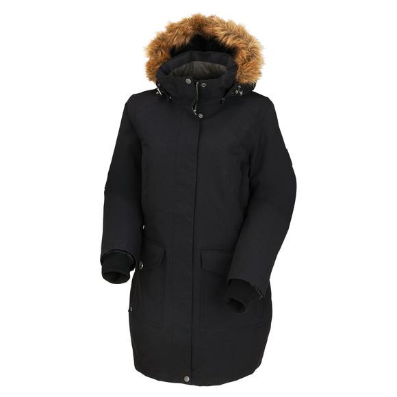 Oddessa - Manteau à capuchon en duvet pour femme