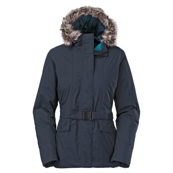 Dunagiri - Manteau d'hiver à capuchon pour femme