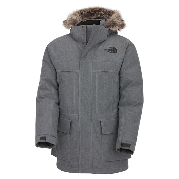 McMurdo II - Men's Down Hooded Jacket