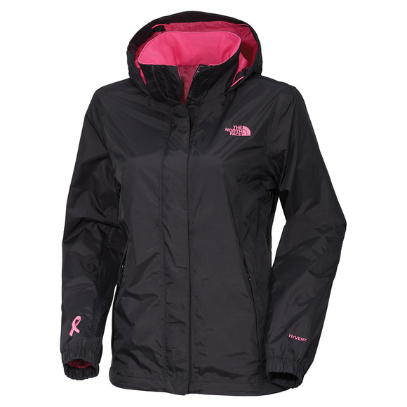 PR Resolve - Hooded Jacket - In Support of Canadian Breast Cancer Foundation