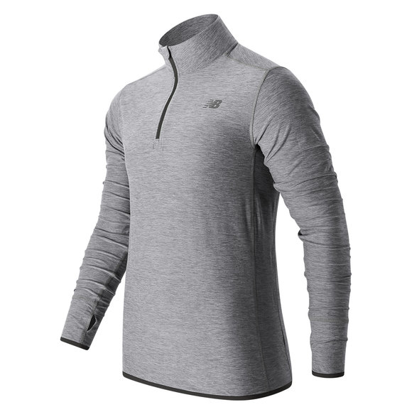 N Transit - Men's Half-Zip Sweater