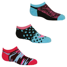 Graphic No Show Jr - Junior Half-Cushioned Ankle Socks