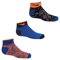 Graphic Jr - Junior Half-Cushioned Ankle Socks