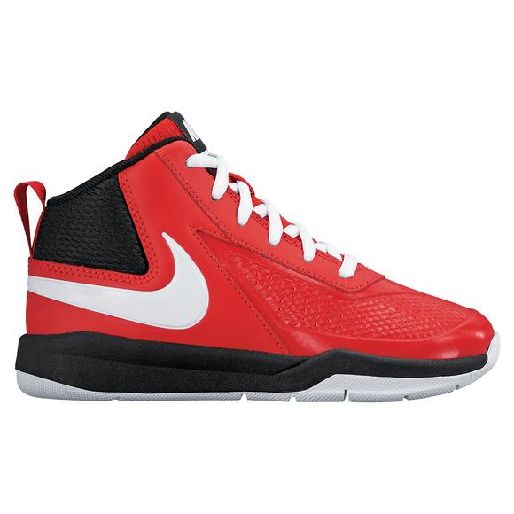 Team Hustle 7 PS - Chaussures de basketball pour enfant
