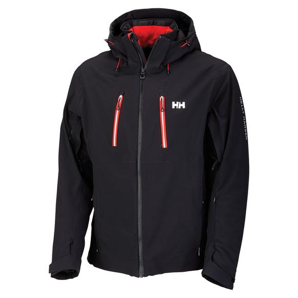 Alpha 2.0 - Men's Hooded Jacket