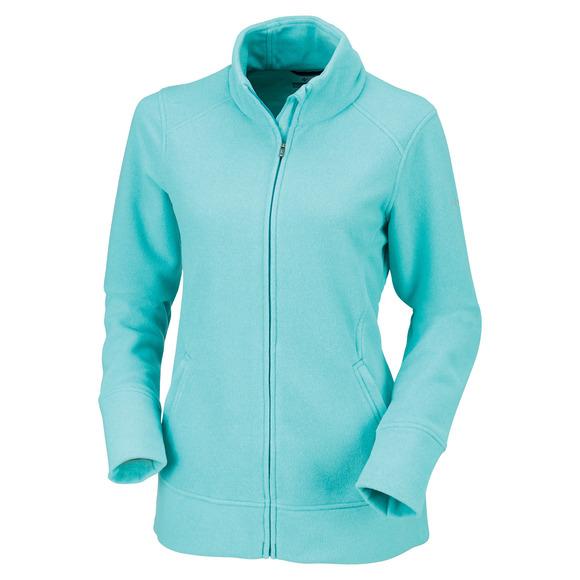 Ombre Spring II - Chandail en laine polaire pour femme