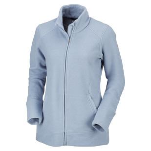 Ombre Spring II - Women's Polar Fleece Sweater
