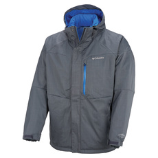 Alpine Action (Plus Size) - Men's Hooded Jacket