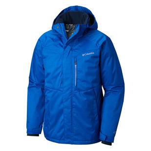 Alpine Action (Plus Size) - Men's Hooded Jacket