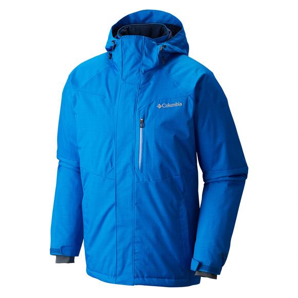Alpine Action (Taille Plus) - Manteau à capuchon pour homme