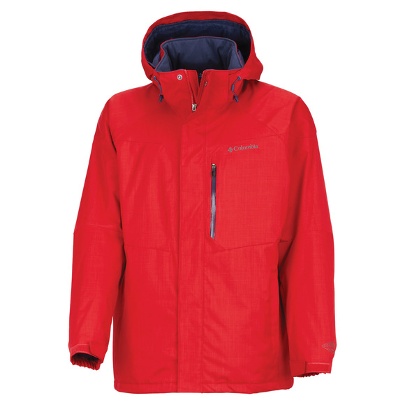 Alpine Action Plus Size - Men's Hooded Jacket