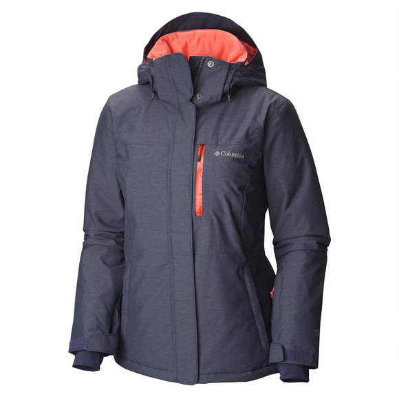 Alpine Action Plus Size - Women's Hooded Jacket