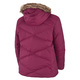 Lay D Down (Plus Size) - Women's Hooded Winter Jacket    - 1
