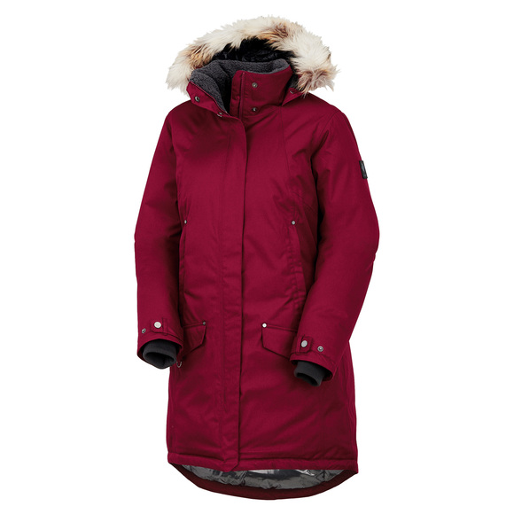 Alpine Escape - Women's Down Hooded Jacket
