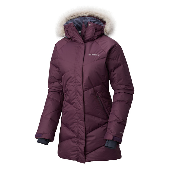 Lay D Down - Women's Hooded Winter Jacket