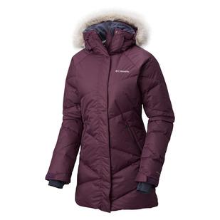 Lay D Down - Manteau d'hiver à capuchon pour femme