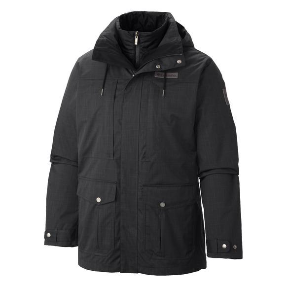 Horizons Pine (Plus Size) - Men's 3 in 1 Hooded Jacket