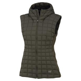 Narin - Women's Hooded Down Sleeveless Vest