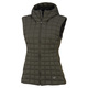 Narin - Women's Hooded Down Sleeveless Vest  - 0