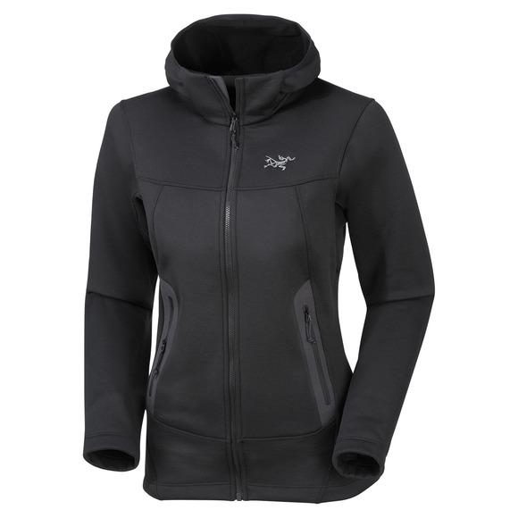 ARC'TERYX Arenite - Women's Polar Fleece Hooded Jacket | Sports ...