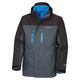 In Bounds 650 TurboDown Interchange - Men's 3 in 1 Down Jacket - 1