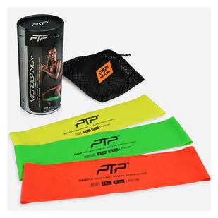 Microband + (Ensemble de 3) - Rubans de résistance en latex