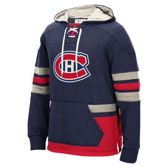 F394F - Chandail à capuchon pour home - Canadiens de Montréal
