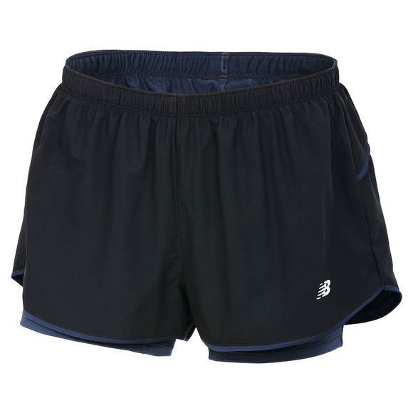 2 in 1 - Women's  Running Shorts
