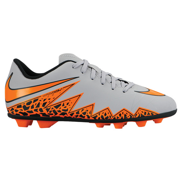 Hypervenom Phade II FG Jr - Junior Outdoor Soccer Shoes
