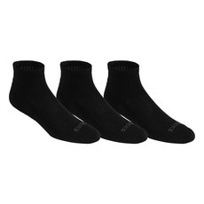 Cushion Quarter - Men's Cushioned Ankle Socks (Pack of 3 pairs)