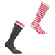 Wordmark II -Women's Half-Cushioned Socks - 0