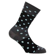 Lifestyle Crew Polka - Women's Cushioned Socks